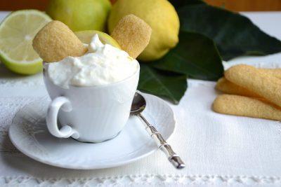 Panna al limone