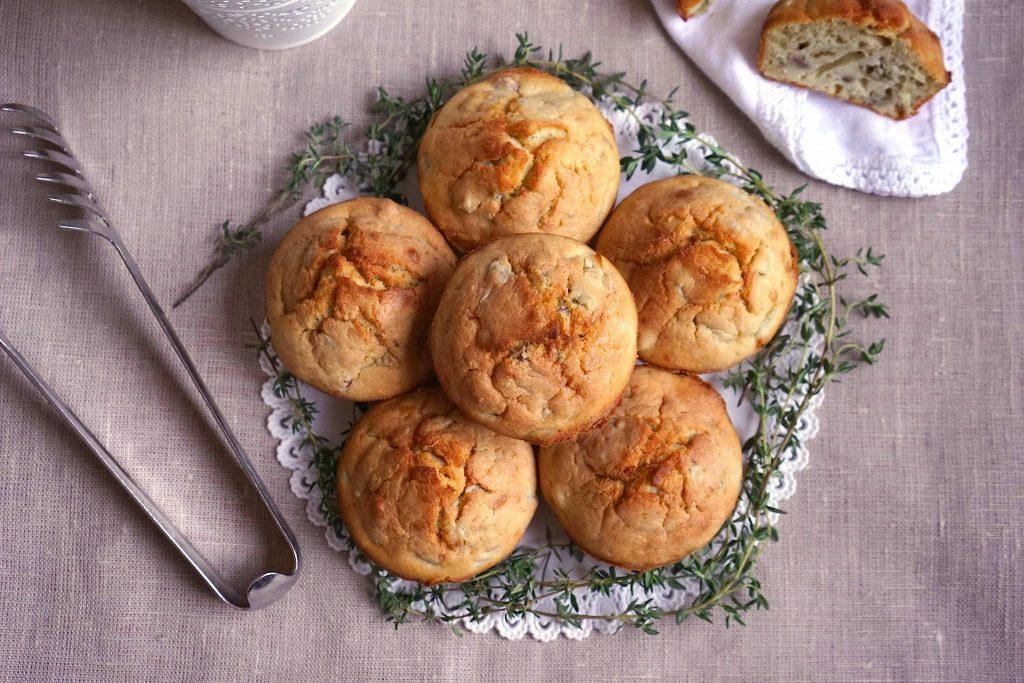 Muffin salati ai carciofi
