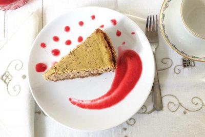 Cheesecake alla zucca, zenzero e cannella