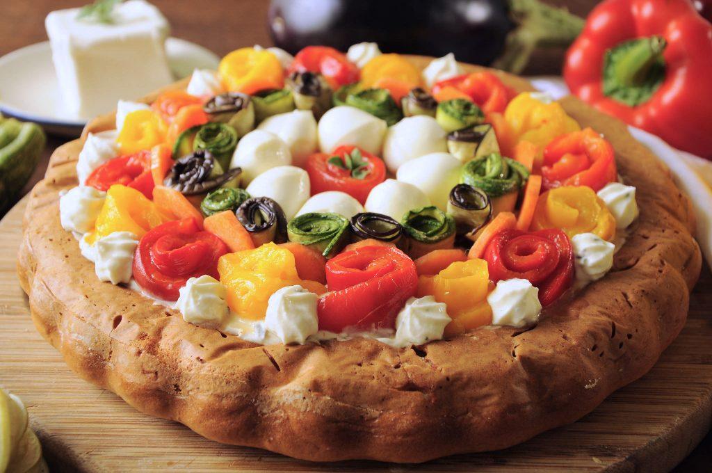 Crostata salata morbida