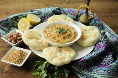 Pane arabo in padella