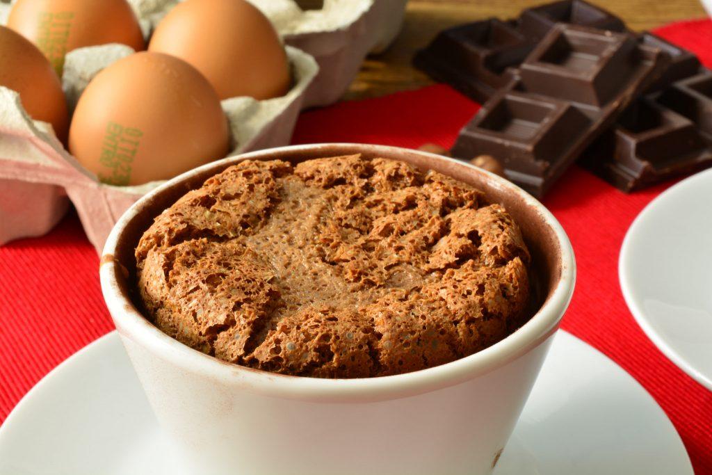 Soufflè alla Nutella