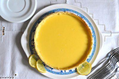 Crostata buonissima al limone