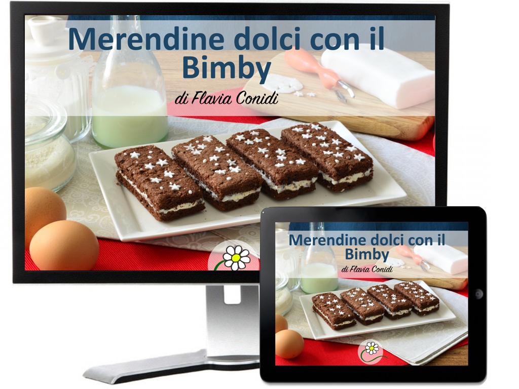 Merendine dolci con il bimby ricettario ebook ricette for Bimby ricette dolci