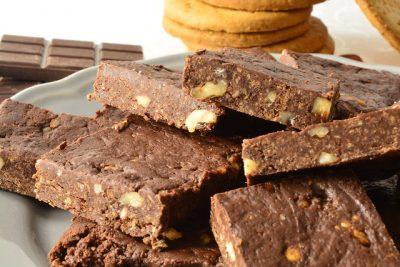 Brownies veloci senza cottura