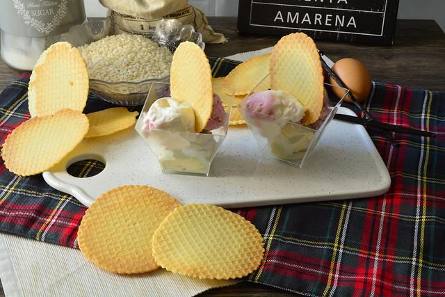 Cialde per gelato senza glutine
