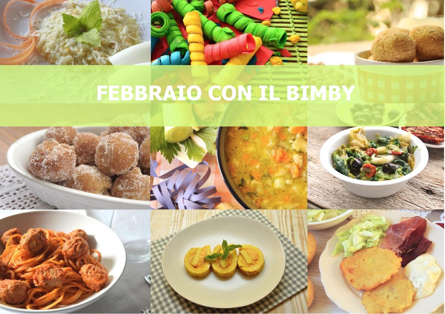 Febbraio con il Bimby