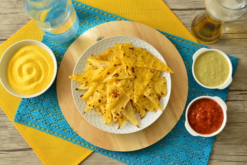 Ricetta Tortilla Chips Bimby.Nachos Bimby Tm31 Tm5 Tm6 Ricette Bimby