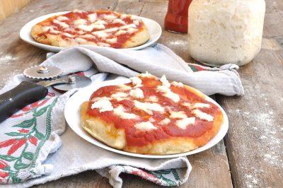 Impasto pizza lievito madre