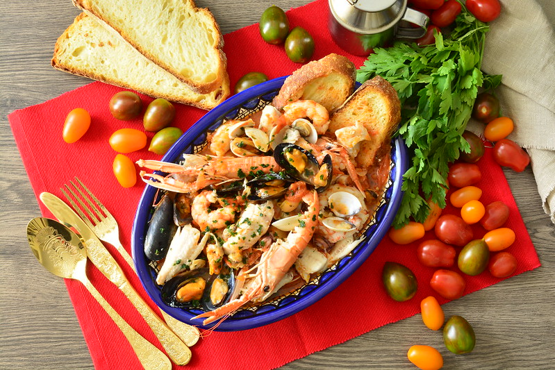 Zuppa di pesce senza spine
