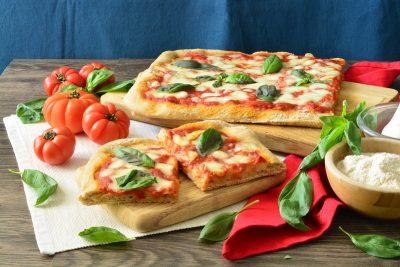 Pizza con farina tipo 2