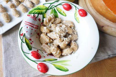 Gnocchi farina di castagne e zucca