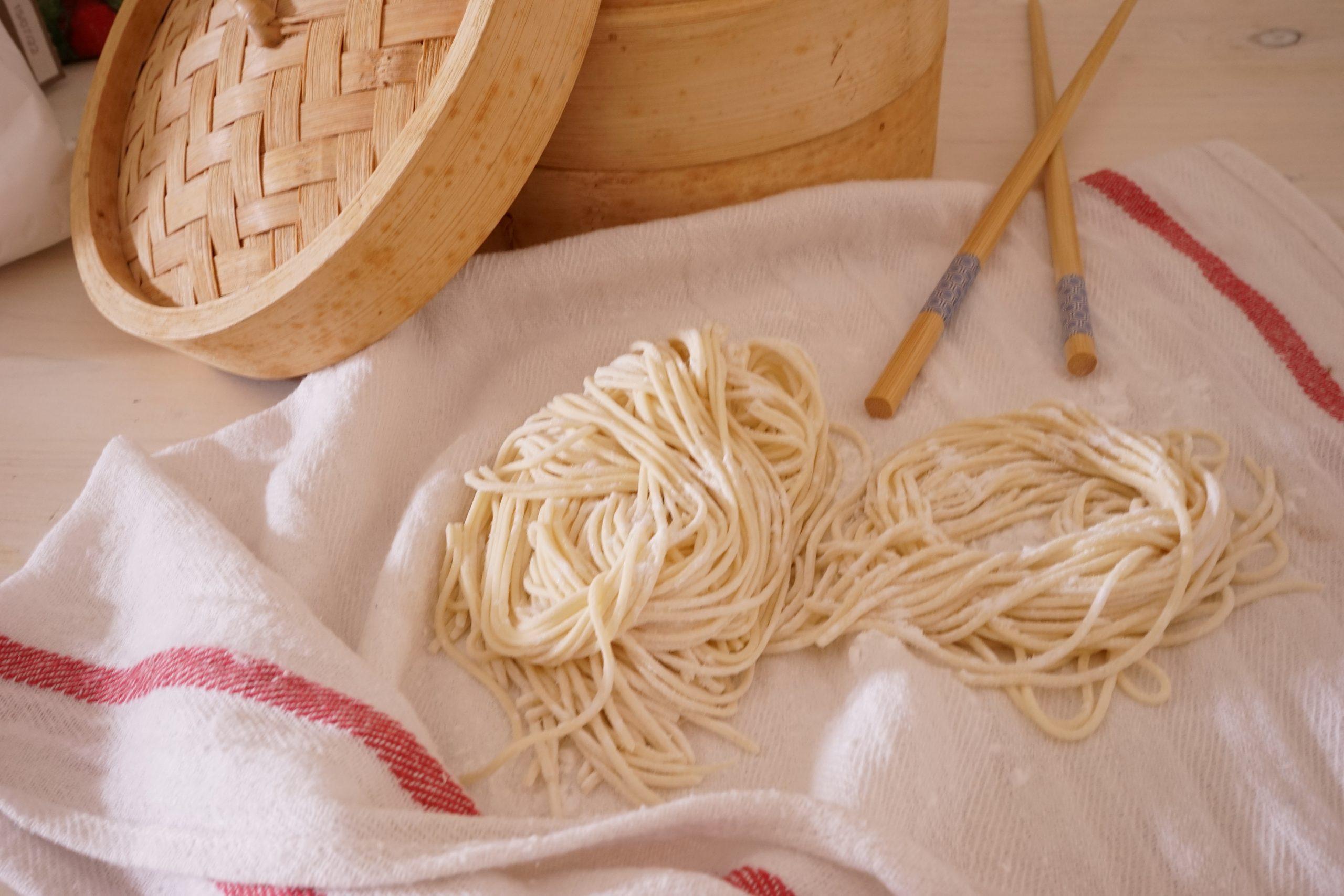 Ricetta Noodles Fatti A Mano.Impasto Noodles Bimby Tm31 Tm5 Tm6 Fatti In Casa